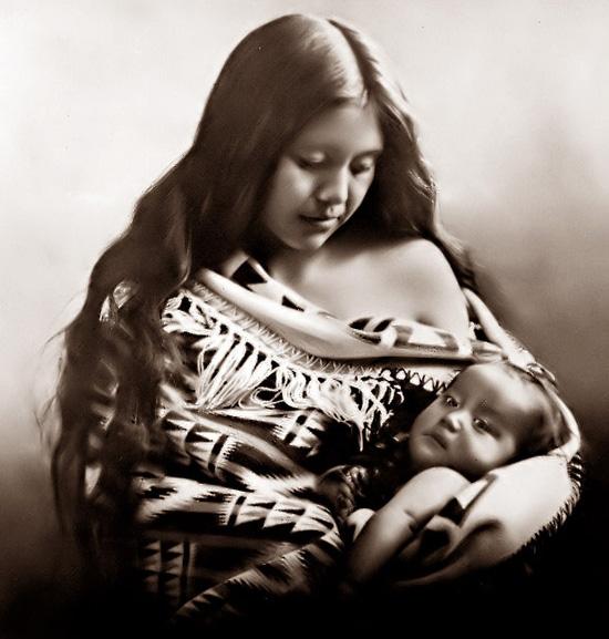 native american mother and child – Mendota Mdewakanton ...